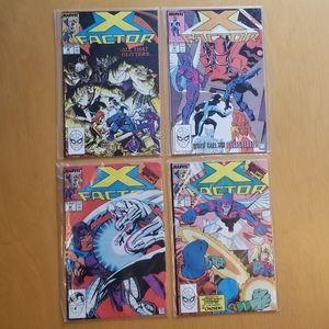 Marvel Comics (Lot of 4) X Factor ******
